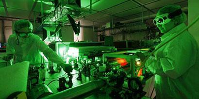 Imagem de Que tal um laser de 500 trilhões de watts? no site TecMundo