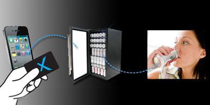 Imagem de Máquina de vendas elimina o dinheiro usando QR codes e RFID no site TecMundo