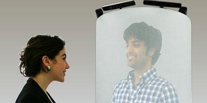 Imagem de Conheça o Telepod: um sistema de projeção de hologramas 3D no site TecMundo