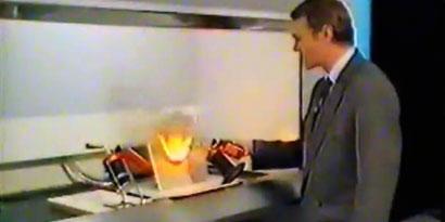 Imagem de Starlite: o misterioso plástico à prova de fogo no site TecMundo
