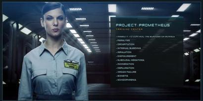 Imagem de Site interativo em HTML5 promove filme Prometheus no site TecMundo