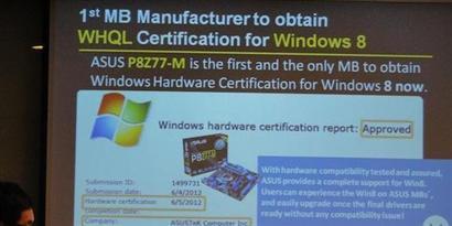 Imagem de Placa-mãe da ASUS é a primeira a obter certificação para Windows 8 no site TecMundo