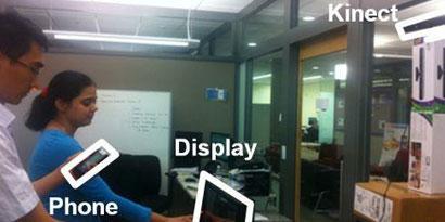 Imagem de Microsoft cria tecnologia que utiliza o Kinect e o Windows Phone para reconhecer quem está usando o Surface no site TecMundo