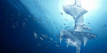Imagem de SeaOrbiter: embarcação de pesquisas submarinas tem design futurista no site TecMundo