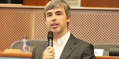 Imagem de Larry Page nega que doença seja grave, mas está fora do Google I/O no site TecMundo