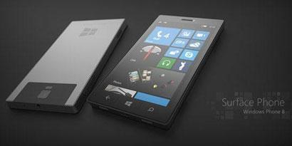 """Imagem de Artista cria conceito de """"Surface Phone"""" da Microsoft no site TecMundo"""