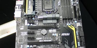 Imagem de Confira o visual da placa-mãe Big Bang Z77-MPower da MSI no site TecMundo