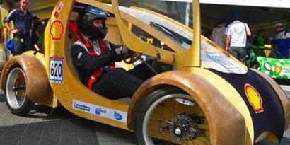 Imagem de Carro de madeira e papelão é o mais ecológico que você já viu [vídeo] no site TecMundo