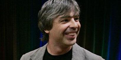 Imagem de Larry Page ainda se recupera de doença no site TecMundo