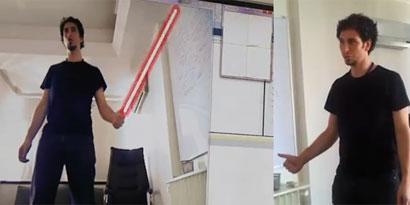 Imagem de Melhor que a Microsoft: grupo usa Kinect para criar sabre de luz e tradutor de libras [vídeo] no site TecMundo