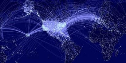 Imagem de MIT mostra quais aeroportos dos EUA podem espalhar mais epidemias no site TecMundo