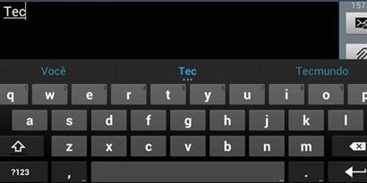 Imagem de Android: como instalar a tecnologia preditiva de digitação do Jelly Bean no site TecMundo