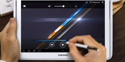 Imagem de Galaxy Note 10,1 com caneta stylus chega às lojas neste mês no site TecMundo