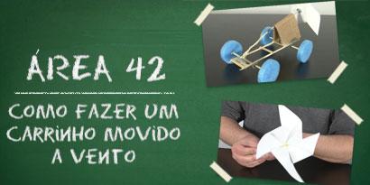 Imagem de Área 42: Como fazer um carrinho movido a vento [vídeo] no site TecMundo