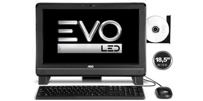 Imagem de AOC lança EVO LED, o novo PC tudo em um de 18,5 polegadas no site TecMundo