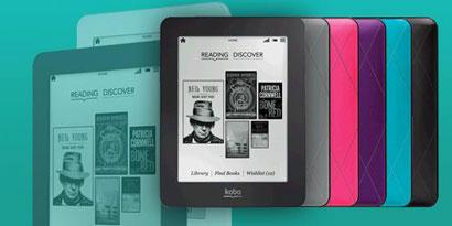 Imagem de Kobo lança três novos modelos de e-book readers no site TecMundo