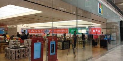 Imagem de Microsoft quer invadir o mercado com 32 lojas temporárias no site TecMundo