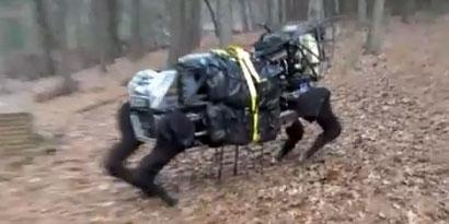 Imagem de Mula robótica do exército americano é capaz de seguir humanos sem ajuda no site TecMundo