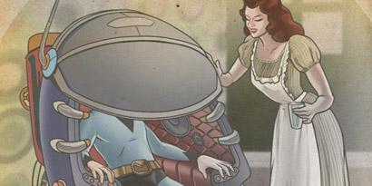 Imagem de Como seria o futuro de acordo com os escritores do passado? [ilustração] no site TecMundo