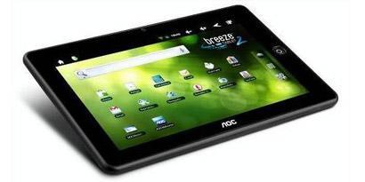 Imagem de AOC lança versão de 8 GB do tablet Breeze no site TecMundo