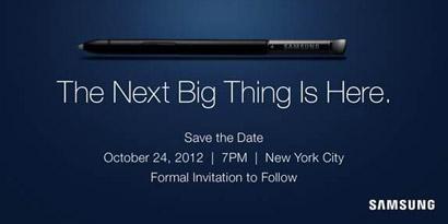 Imagem de Detalhes sobre lançamento do Galaxy Note II podem ser apresentados no dia 24 de outubro no site TecMundo