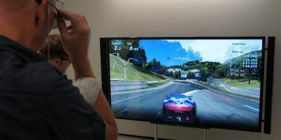 Imagem de Sony também traz tecnologia que mostra duas imagens em uma só TV para a IFA 2012 no site TecMundo