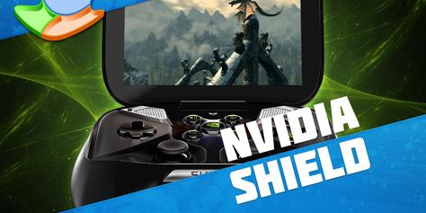 Imagem de Análise: console portátil NVIDIA Shield [vídeo] no site TecMundo
