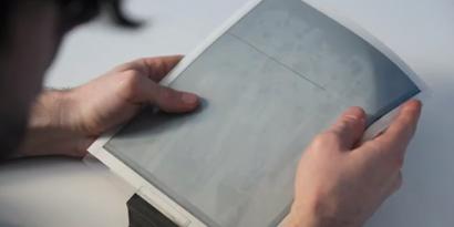 Imagem de PaperTab: folha de papel digital é dobrável e pode ser usada em conjunto [vídeo] no site TecMundo