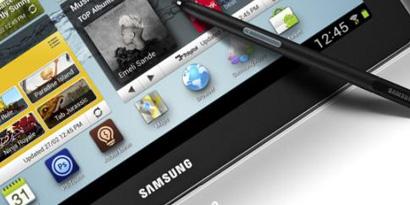 Imagem de Galaxy Note com oito polegadas deve aparecer na MWC em fevereiro no site TecMundo