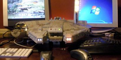 Imagem de Fã transforma nave de Star Wars em case para computador [vídeo] no site TecMundo