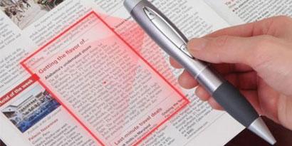 Imagem de Uma caneta-scanner à la James Bond no site TecMundo