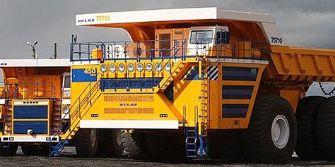 Imagem de BelAZ 75710: o novo maior caminhão do mundo no site TecMundo