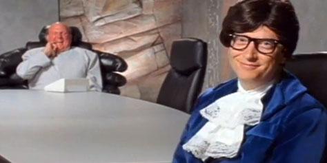 Imagem de Relembre: Bill Gates e Steve Ballmer viram Austin Powers e Dr. Evil [vídeo] no site TecMundo