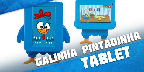 Imagem de Análise: tablet Tectoy Galinha Pintadinha no site TecMundo