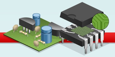 Imagem de Como funciona um circuito integrado? [ilustração] no site TecMundo