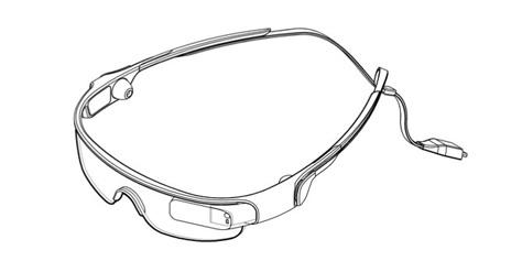 """Imagem de """"Sports Glasses"""" são patenteados pela Samsung no site TecMundo"""