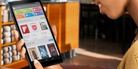 Imagem de Nexus 8? Google pode ter revelado novo tablet no site do Android no site TecMundo