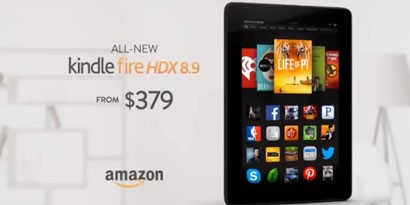 Imagem de Amazon faz comercial agressivo contra Apple para divulgar Kindle Fire HDX no site TecMundo