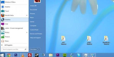 Imagem de Microsoft pode trazer de volta o Menu Iniciar com o Windows 8.2 no site TecMundo