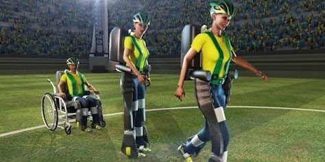 Imagem de Neurocientista brasileiro mostra exoesqueleto robótico em ação no site TecMundo