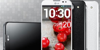 Imagem de LG anuncia Optimus G Pro com tela curvada no site TecMundo
