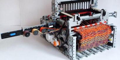 Imagem de Máquina de tear feita de LEGO funciona tão bem quanto a de verdade [vídeo] no site TecMundo