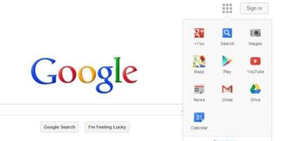 Imagem de Google pode aposentar barra de navegação e usar menu escondido no site TecMundo
