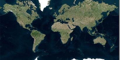 Imagem de Atualização no Bing Maps traz imagens em alta resolução e topografia do mar no site TecMundo