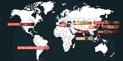 Imagem de Os 9 maiores polos tecnológicos do mundo [ilustração] no site TecMundo