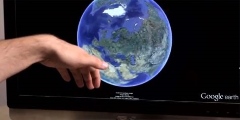 Imagem de Google Earth com controle gestual faz você viajar pelo mundo com as mãos no site TecMundo