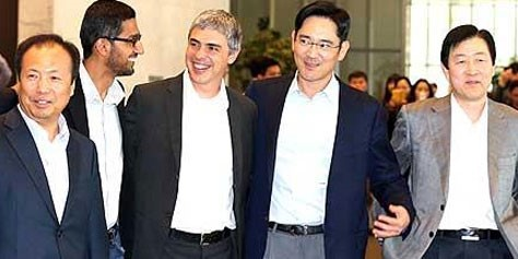 Imagem de Samsung e Google podem estar começando uma parceria para criar Smart TVs no site TecMundo