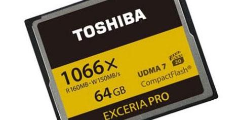 Imagem de Toshiba anuncia cartões de memória com leitura de dados a 160 MB/s no site TecMundo