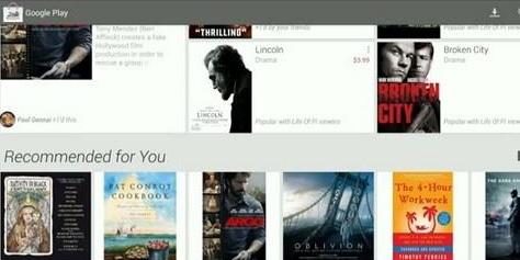Imagem de Google Play vai ganhar cara nova no site TecMundo