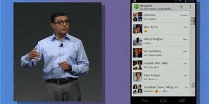 Imagem de Google integra todas as conversas e gadgets com novo Hangouts no site TecMundo